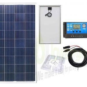 Poly-Crystalline Solar Kits