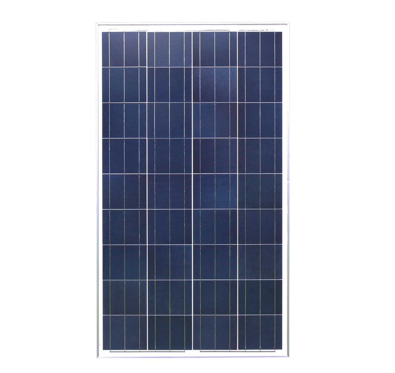 Poly 100w Solar Panel Only Rigid Low Energy Supermarket