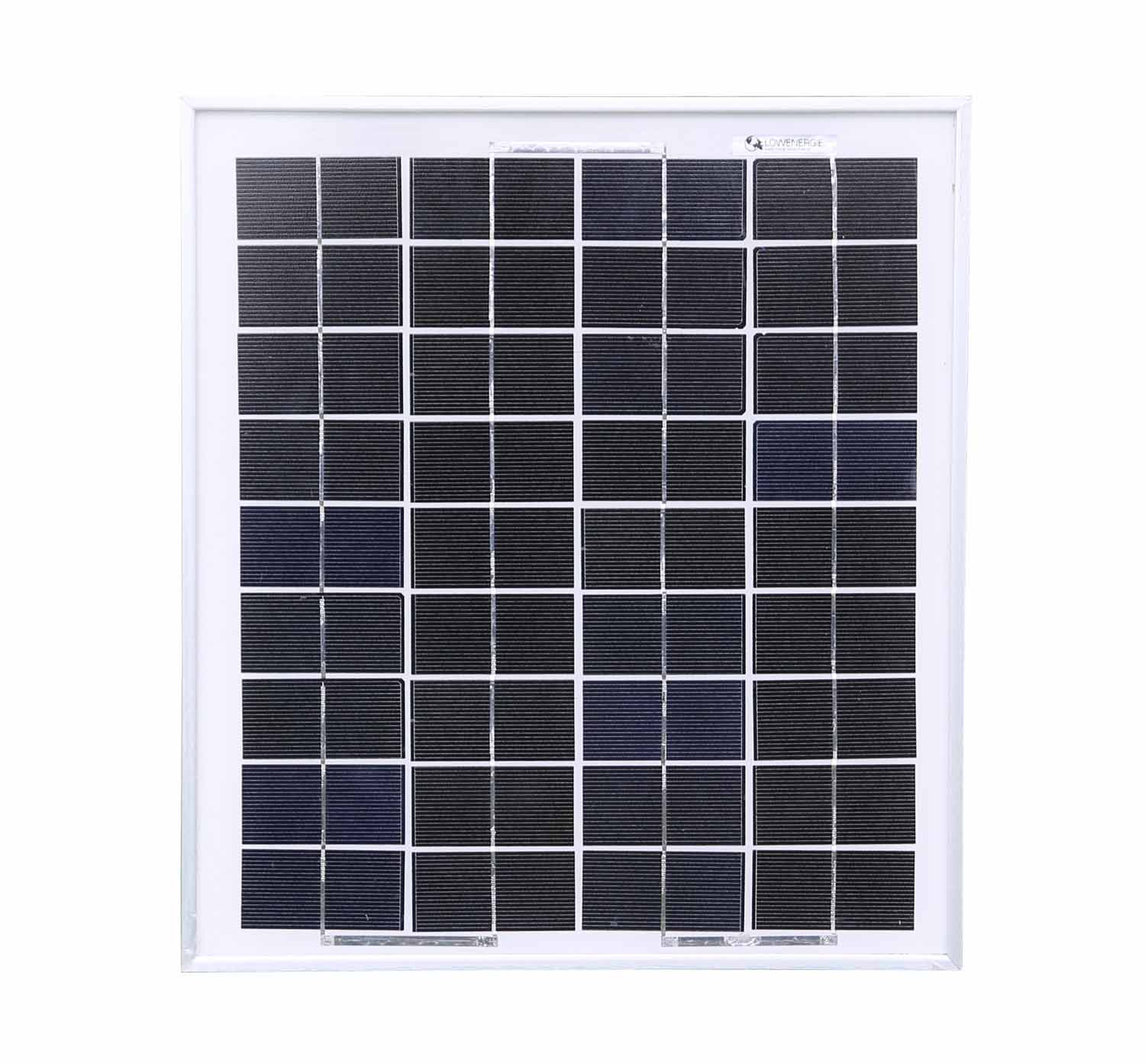 Poly 10w Solar Panel Only Low Energy Supermarket
