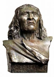 Chief Seattle's Bust