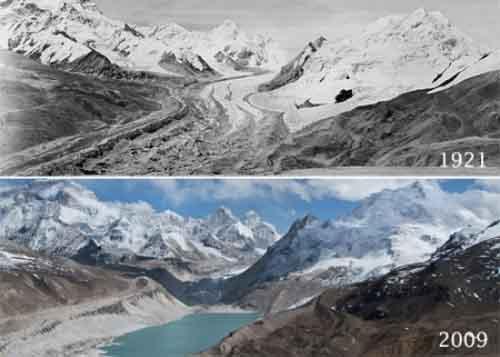Himalayian Glacier Retreat