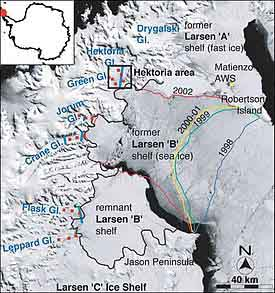 Ice Shelf Larsen B