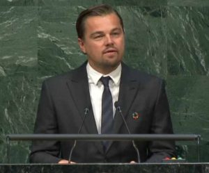 Leonardo DeCaprio Paris 2016 Climate Convention Speech