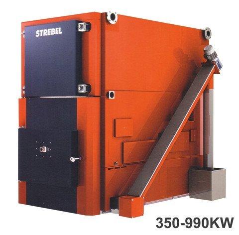 Strebel Taurus - Biomass Boiler