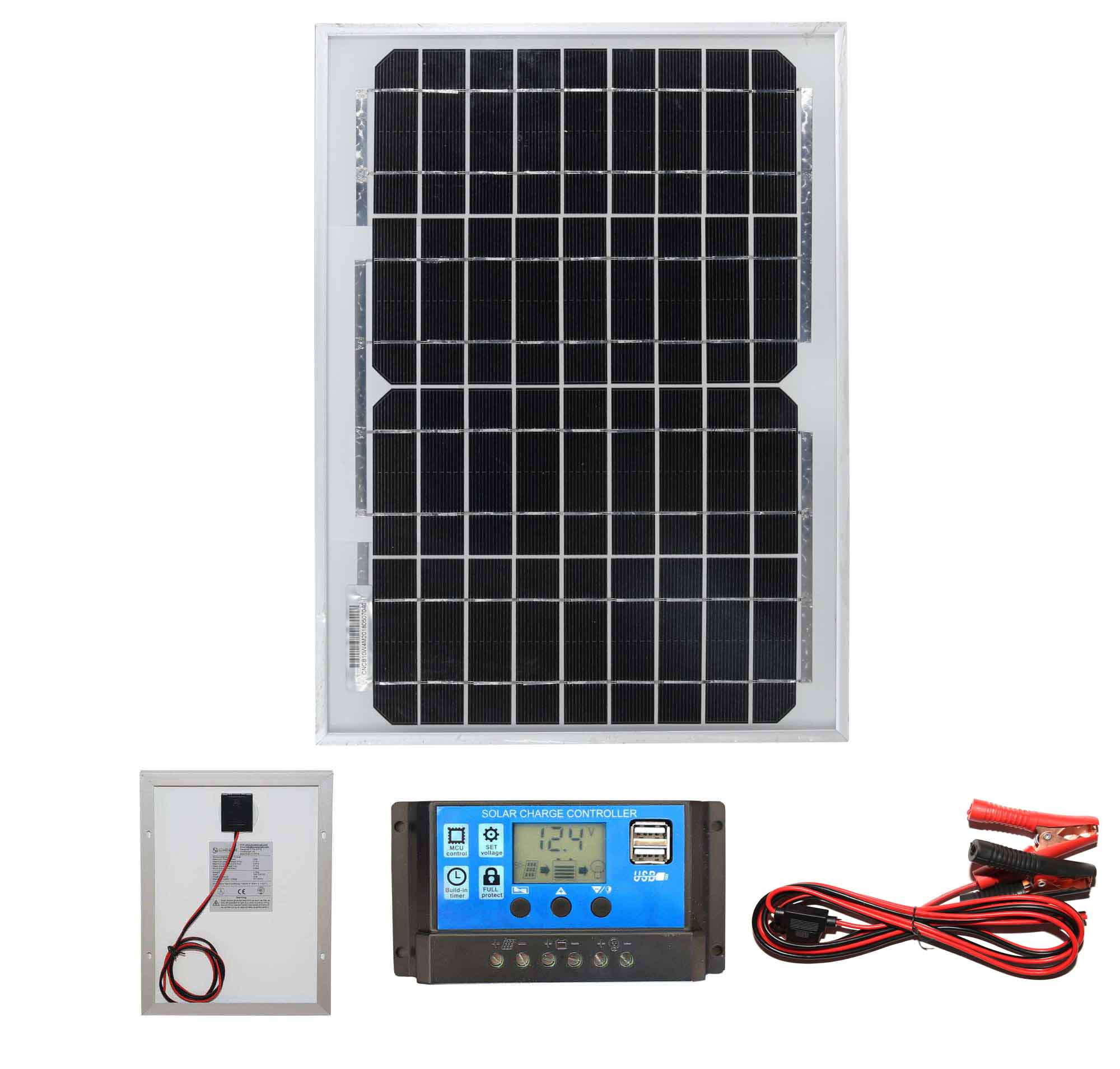 Poly 10w Solar Panel Kit 1 Low Energy Supermarket