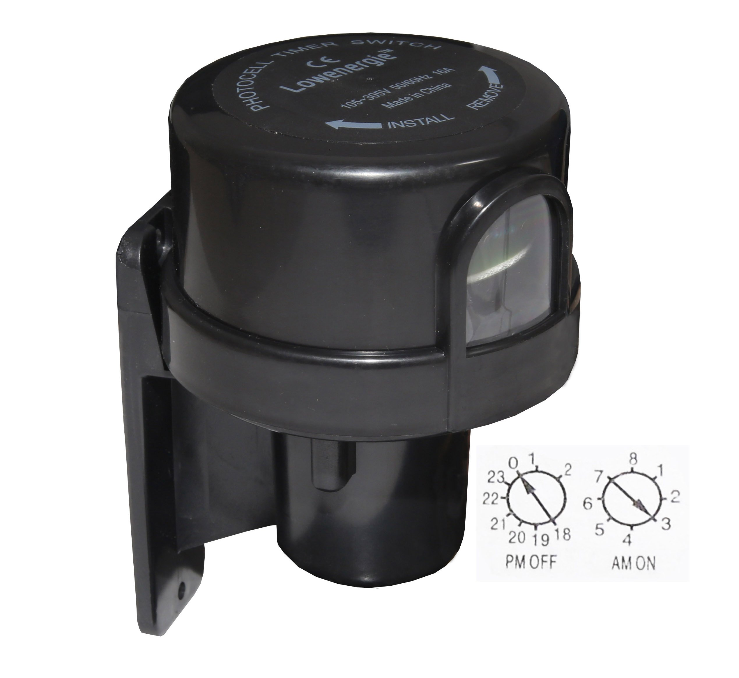 Photocell Timer Light Switch