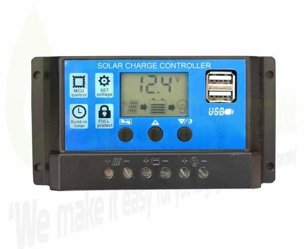 Solar-charge-controller-USB-New-Blue