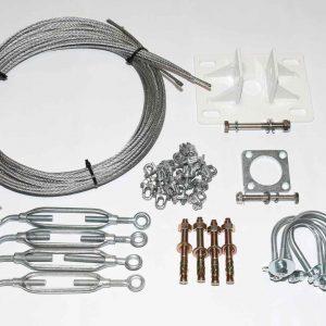 Wind-Turbine-Mast-Kit-Small-for-48mm-steel-tube-6.5m-2