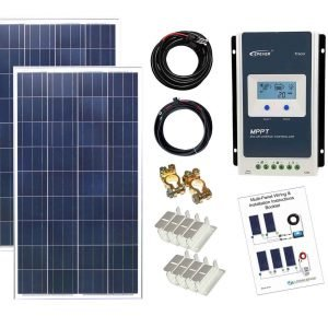 200w-Poly-Solar-Panel-kit-K4-MPPT-CS