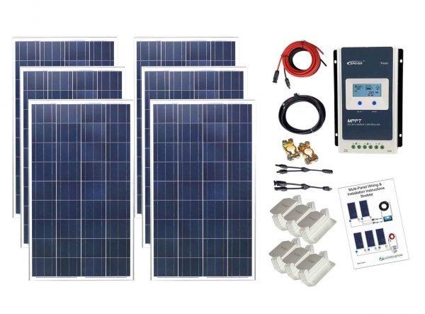 600w-Poly-Solar-Panel-kit-K4-MPPT-CS