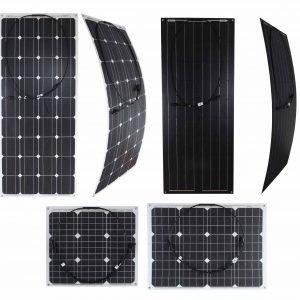 Semi Flexible Solar Panels